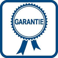 Garantie op onze producten