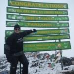 De Kilimanjaro lachte al jaren naar mij als ik er voorbijvloog