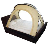 hoogtetent - portable bed tent
