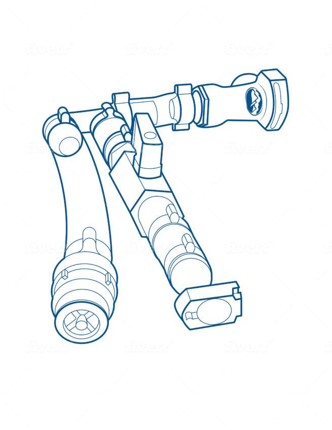 Hoogte adaptor